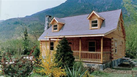 log home design plan and kits for compton