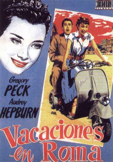 imagenes vacaciones en roma el mundo del cartel vacaciones en roma 1953