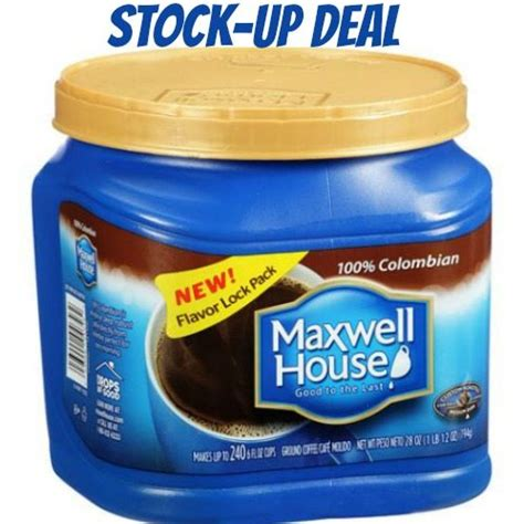 maxwell house coffee coupons maxwell house coffee coupon and deals