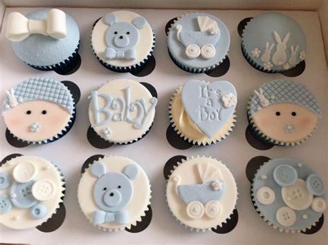 Cupcakes For A Baby Boy Shower by Baby Boy Cupcakes Recuerdos De Bautismo