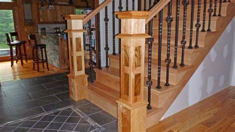 handmade custom stair newel posts  jl ross custom