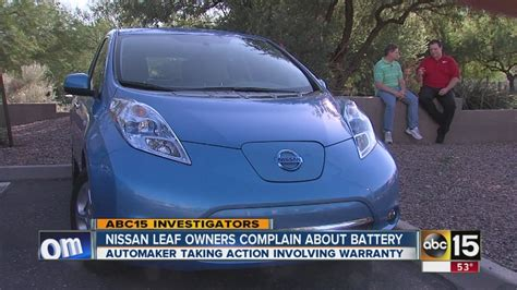 problems with nissan leaf nissan leaf owner complain about battery problems