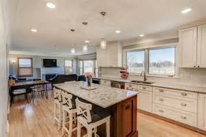open concept kitchen remodel minneapolis titus contracting