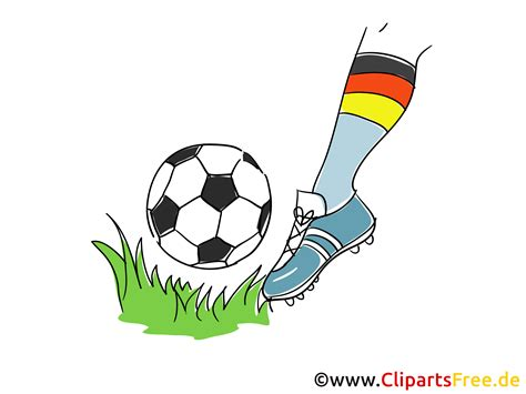 clipart for free free clipart fussball