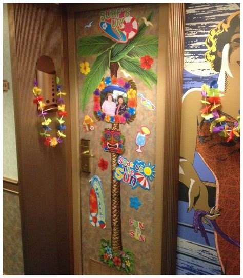 Cruise Decorations by Carnival Cruise Cabin Door Decorations Looks Punchaos