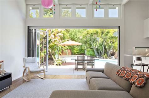 Windows That Open Out Ideas 17 Stunning Ways To Use Bi Folding Doors In Living Rooms