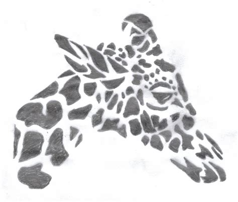 giraffe tribal tattoo giraffe tribal by boarfeathers on deviantart