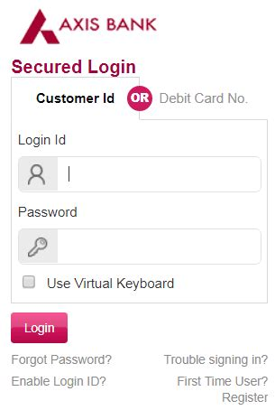 axis bank net banking login page how to add payee in axis bank