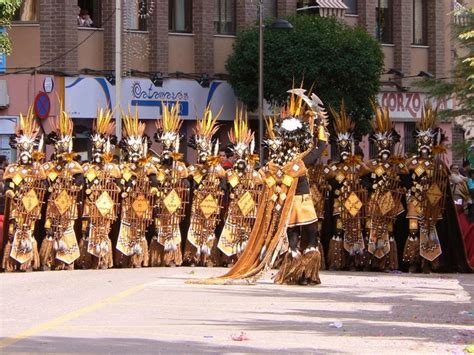 which is the best moors and christians festival in spain