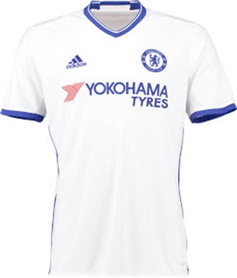 Jersey Chelsea Home 16 17 Original 2016 17 premier league kits overview all 16 17 premier league jerseys footy headlines