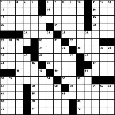 Cardinal Cap Letters Crossword