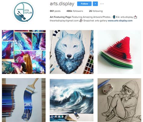 bio instagram art 15 art profiles to follow on instagram for insta nt