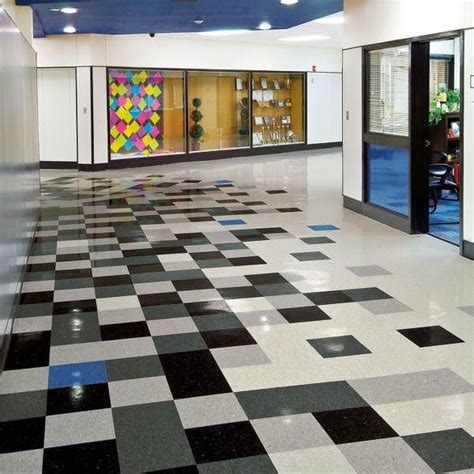 Armstrong Classic Black VCT Tile   Vct tile, Checkerboard