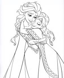 Anna And Elsa Coloring Pages » Home Design 2017
