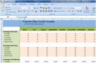 excel forecasting template flow forecasting for your business