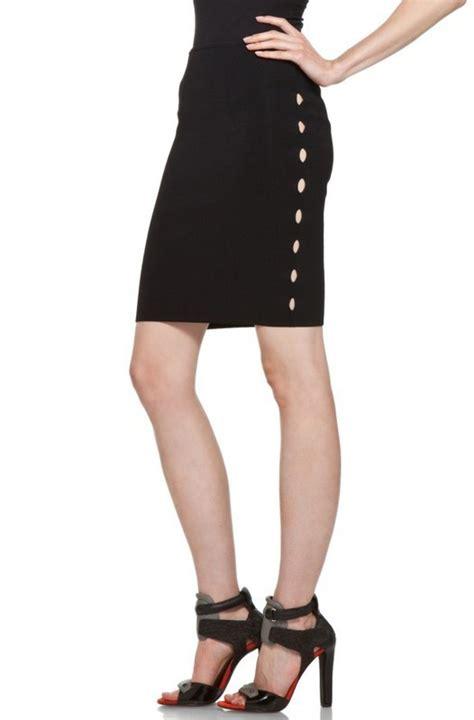 A289 Herve Ledger Skirt herve leger black cutout bandage skirt