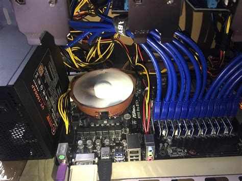 Riser Vga For Minning Gaming Etc asrock h110 pro btc with 13 gpus windows and linux