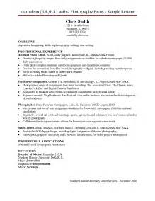 Freelance Writing Resume Sles by Sle Resume Freelance Writer