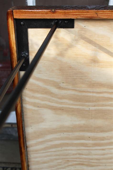 Remodelaholic Diy Wood Herringbone Coffee Table With Diy Hairpin Leg Coffee Table