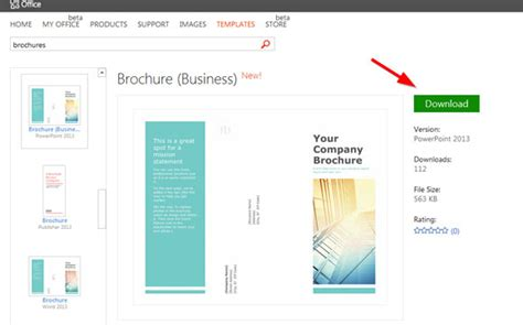 design brochure using powerpoint simple brochure templates for powerpoint