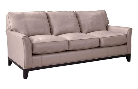 one cushion sofas by broyhill broyhill furniture perspectives l4445 3 stationary sofa
