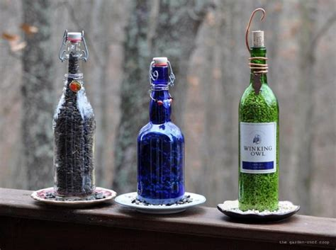 top 10 awesome things to make using empty wine bottles top inspired