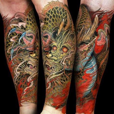 tattoo color dragon forearm ideas tattoo designs