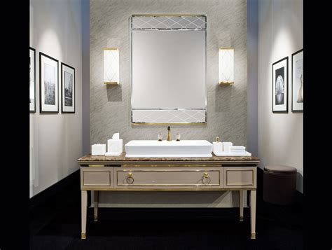 luxury italian bathrooms lutetia l10 luxury italian bathroom vanity in taupe