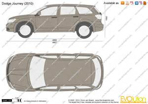 the blueprints vector drawing dodge journey