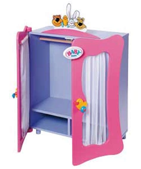 baby born wardrobe and changing table baby born wardrobes reviews