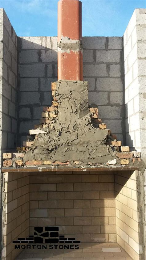 large brick outdoor fireplace building miami fl