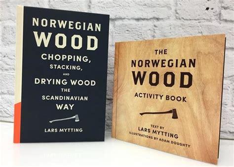norwegian wood activity book adam doughty illustration