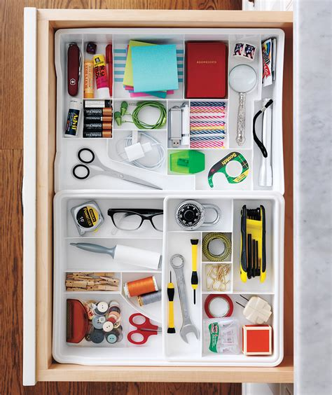 organize organise 15 organizing ideas for your drawers real simple