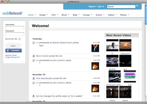best social networking script 10 great php scripts to create a social network