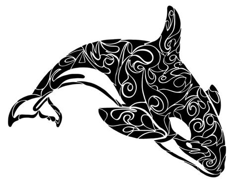 orca tribal tattoo 658 best animal images on geometric animal