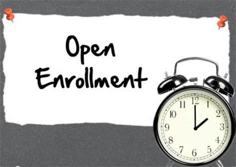 Open Enrollment Period for Individual Health Insurance