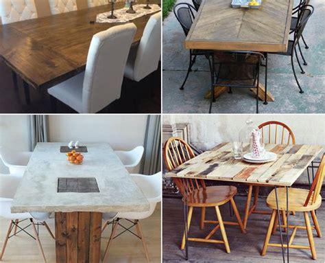 Diy Dining Table Ideas 10 Unique Diy Dining Table Ideas