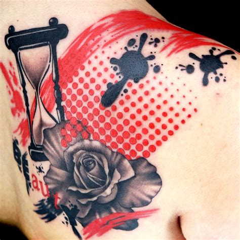 trash polka rose tattoo best 25 trash polka ideas on trash polka