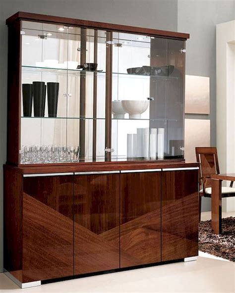 china high gloss kitchen cabinet furniture door material 4 door china cabinet in high gloss walnut finish 33d68