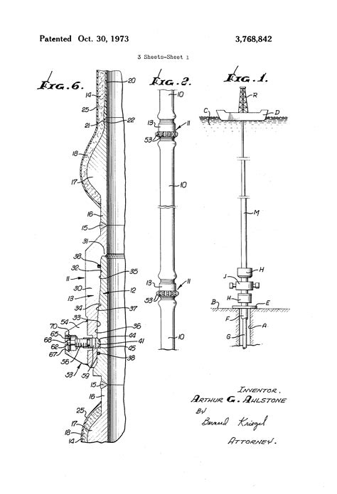 Patent US3768842 - Light weight marine riser pipe - Google