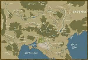 earthdawn map of barsaive by digitalsushi on deviantart