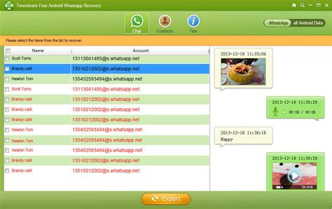 top 2 free ways to backup and restore whatsapp chat history on android