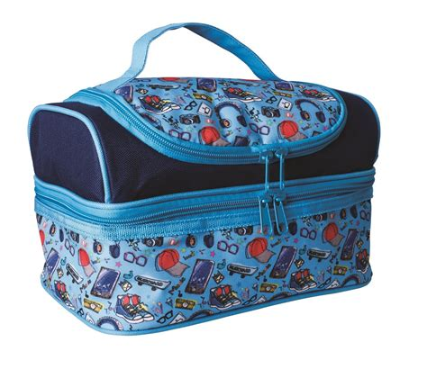 Souvenir Lunch Bag Decker 9 avanti yum yum decker lunch bag blue