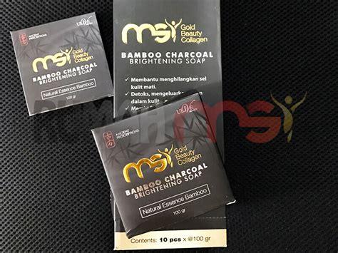 Kulit Sensitifalergi Atasi Dengan Sabun Arang Bambu msi bamboo charcoal soap distributor resmi pt msi