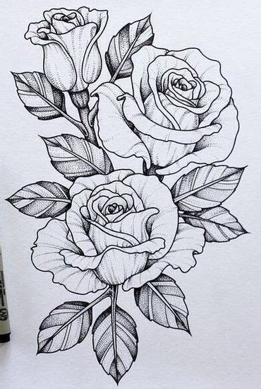 design flower rose should maybe add this piece to my skull n rose tattoo