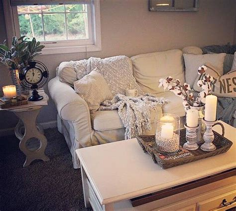 farmhouse glam living room picture of white ektorp for a glam farmhouse living room
