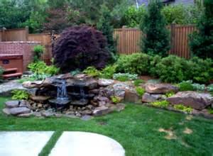 Small jungle waterfalls stone wallpaper small garden ponds in santa