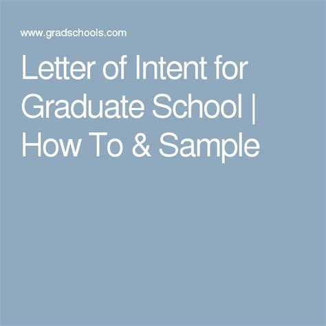 Support Letter For Graduate School Letter Of Intent Graduate Msn Nursing Masters Ms Personal Statement Of Purpose Help