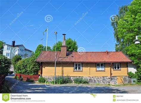 Sweden Cottages by Swedish Cottage Royalty Free Stock Photo Image 36067965