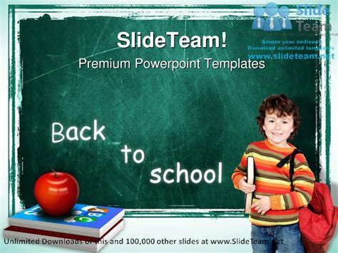 Back To School Education Powerpoint Templates Themes And Back To School Ppt